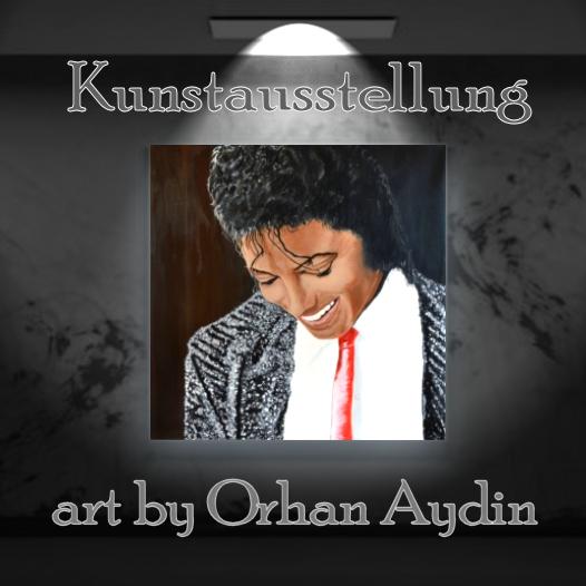 Kunstausstellung – art by Orhan Aydin – verschoben